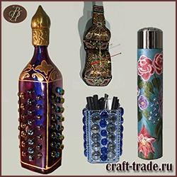 Изделия из стеклянных бутылок
