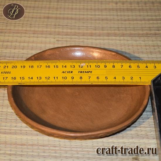 Тарелки столовые для вторых блюд