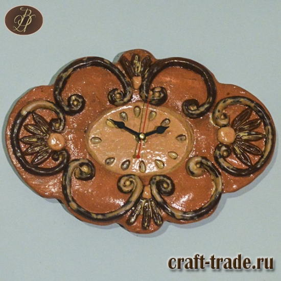 Часы настенные в стилле барокко