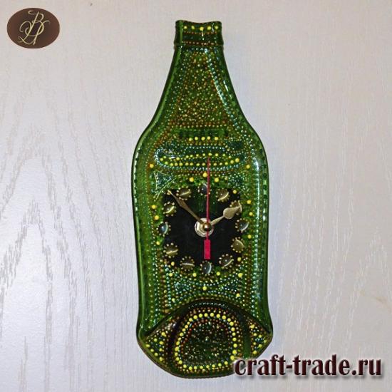 """Часы бутылка """"Зель"""""""